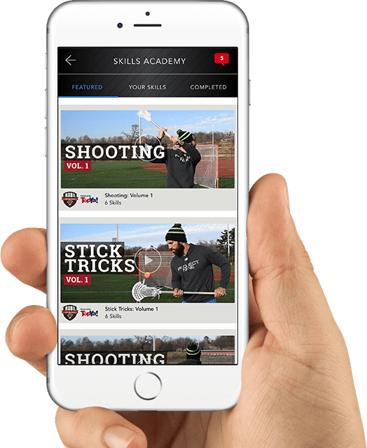 Download TopYa! Lacrosse for an Interactive Experience